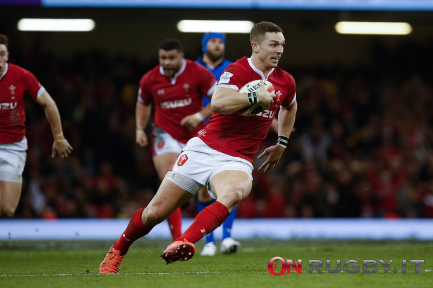 George North Galles Autumn Nations Cup
