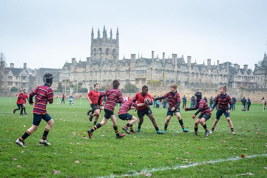 I campi da rugby più belli del mondo - Magdalen College School, Oxford, Inghilterra