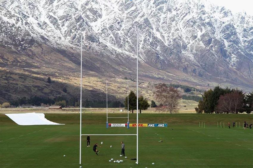 I campi da rugby più belli del mondo - Queenstown, New Zealand