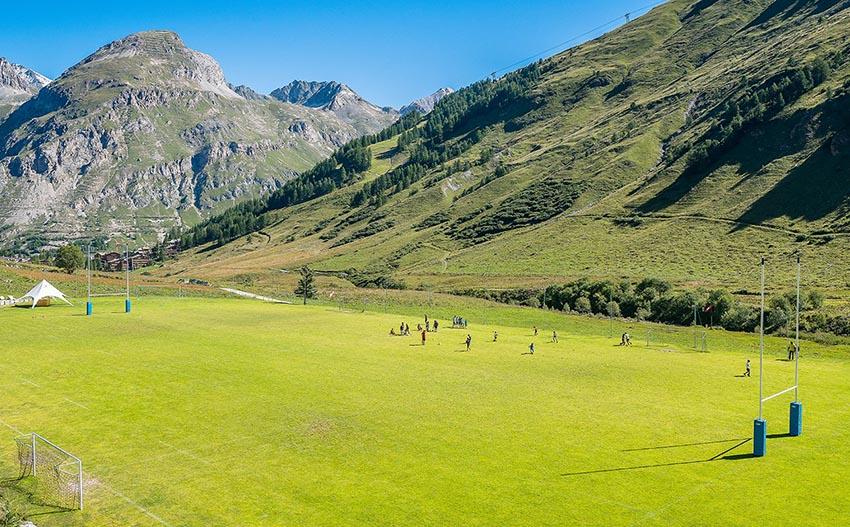 I campi da rugby più belli del mondo - Val-d'Isère, Francia
