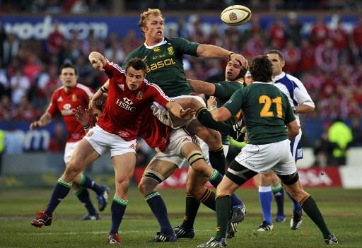 British and Irish Lions: cambia il calendario del Tour in Sudafrica (Photo by GIANLUIGI GUERCIA / AFP)