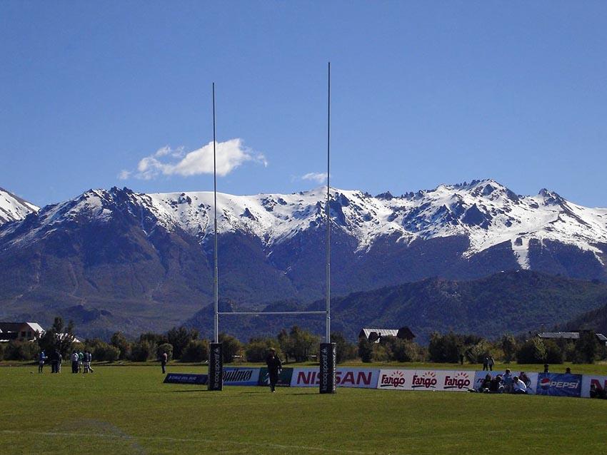 I campi da rugby più spettacolari del mondo - Bariloche, Argentina