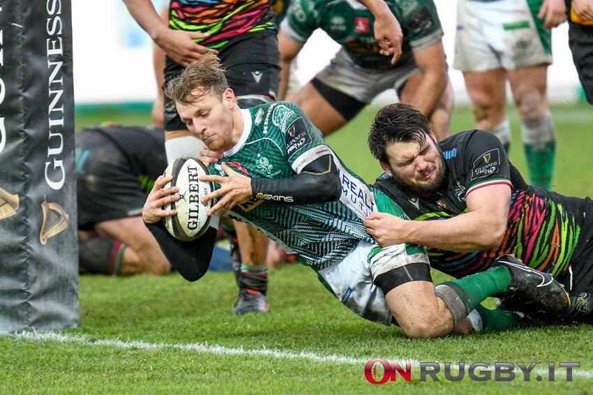 """Rugby – Callum Braley: """"Felice di essere a Treviso, ripartiamo da zero in Rainbow Cup"""""""