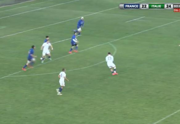 Francia-Italia Under 20, il drammatico finale