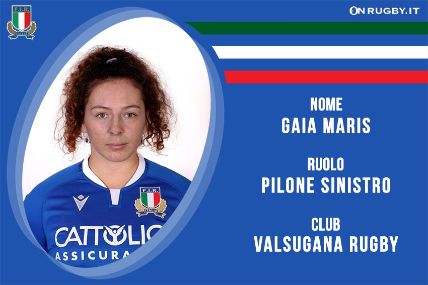 Gaia Maris rugby Nazionale Italiana Femminile