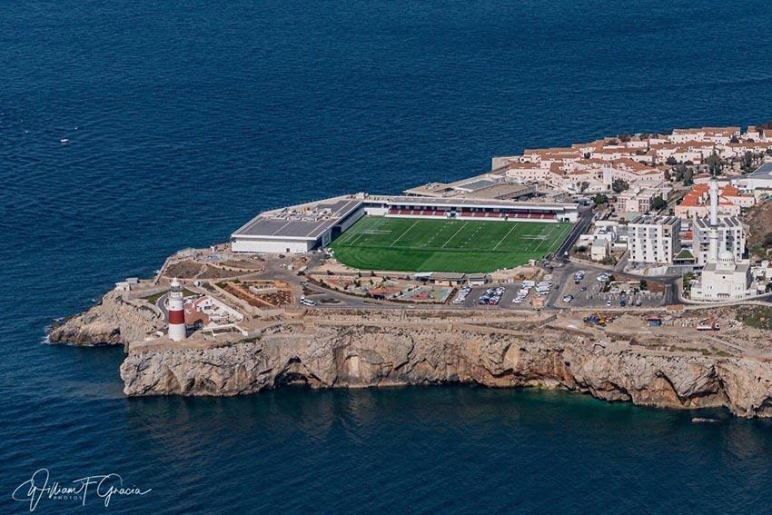 I campi da rugby più spettacolari del mondo- Gibilterra