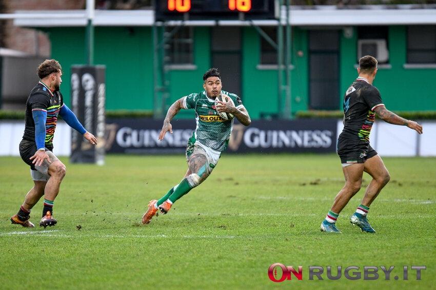 """Benetton Rugby, parla Monty Ioane: """"Non mi sento un leader, ma cerco sempre di dare il meglio"""""""