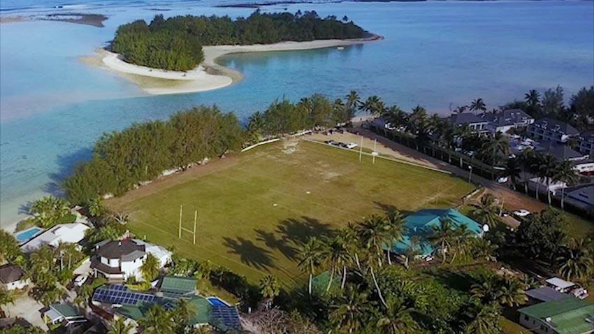 I campi da rugby più spettacolari del mondo - Rarotonga, Cook Islands.