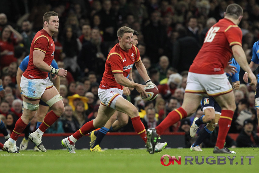 Sei Nazioni: Rhys Priestland potrebbe tornare a giocare con il Galles. PH: Sebastiano Pessina