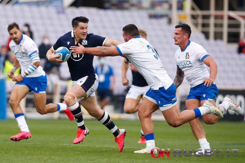 Sei Nazioni 2021: Scozia e Irlanda hanno vinto le loro due sfide della quinta giornata battendo Italia e Inghilterra ph. Sebastiano Pessina