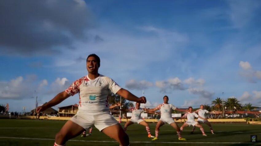 La Hoko, la danza di guerra eseguita dalla squadra di Rapa Nui