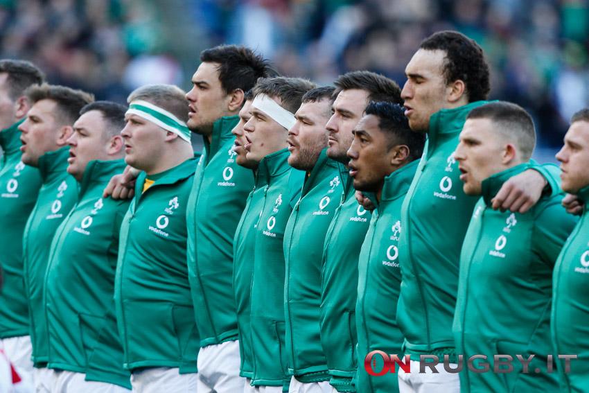 Sei Nazioni 2021 formazione Irlanda
