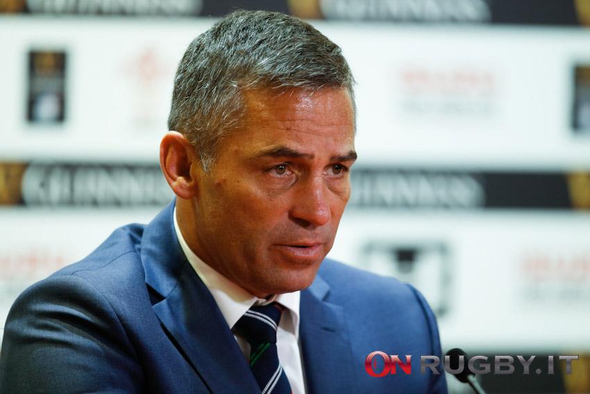 Franco Smith conferenza stampa italia Inghilterra Sei Nazioni 2021