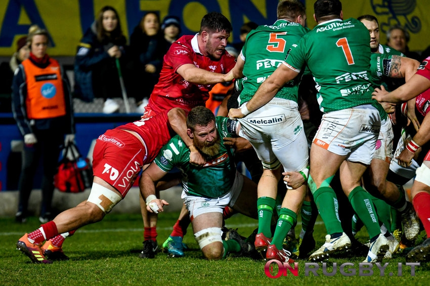 Pro14 Scarlets-Benetton Rugby