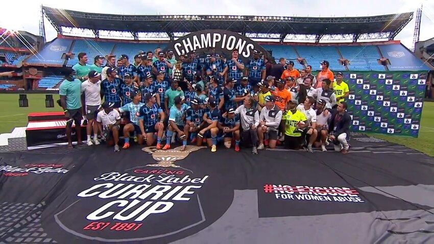I Blue Bulls hanno vinto la loro 24esima Currie Cup della storia