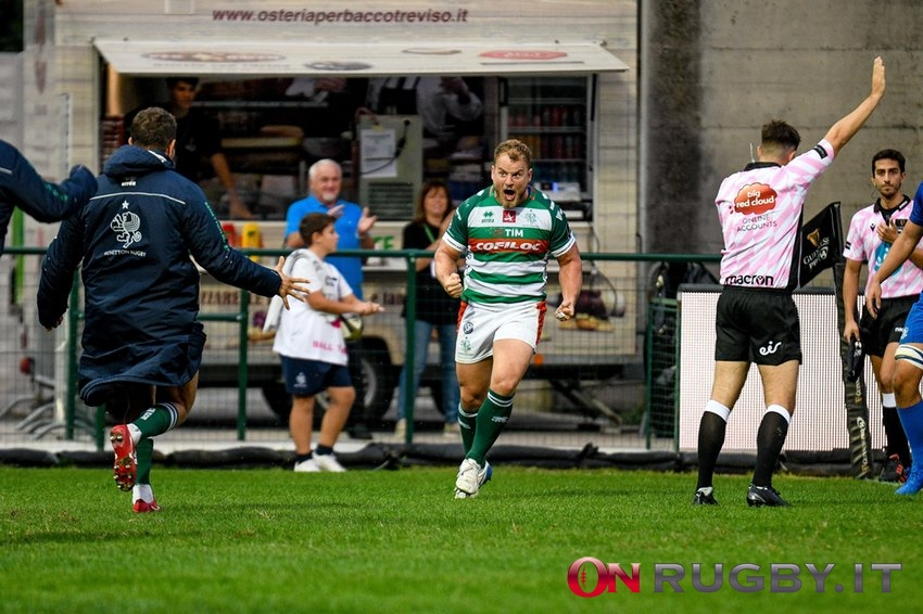 Benetton Rugby Tomas Baravalle