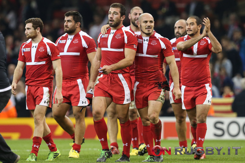 Gerogia-Tonga RWC2015