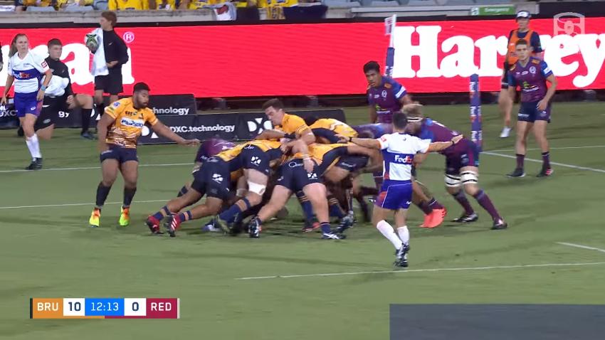 Super Rugby AU: Grande partita tra Brumbies e Reds nel quarto turno