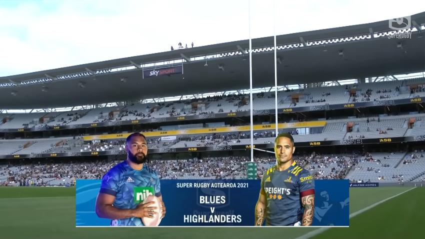Super Rugby Aotearoa: i Blues hanno ospitato gli Highlanders all'Eden Park