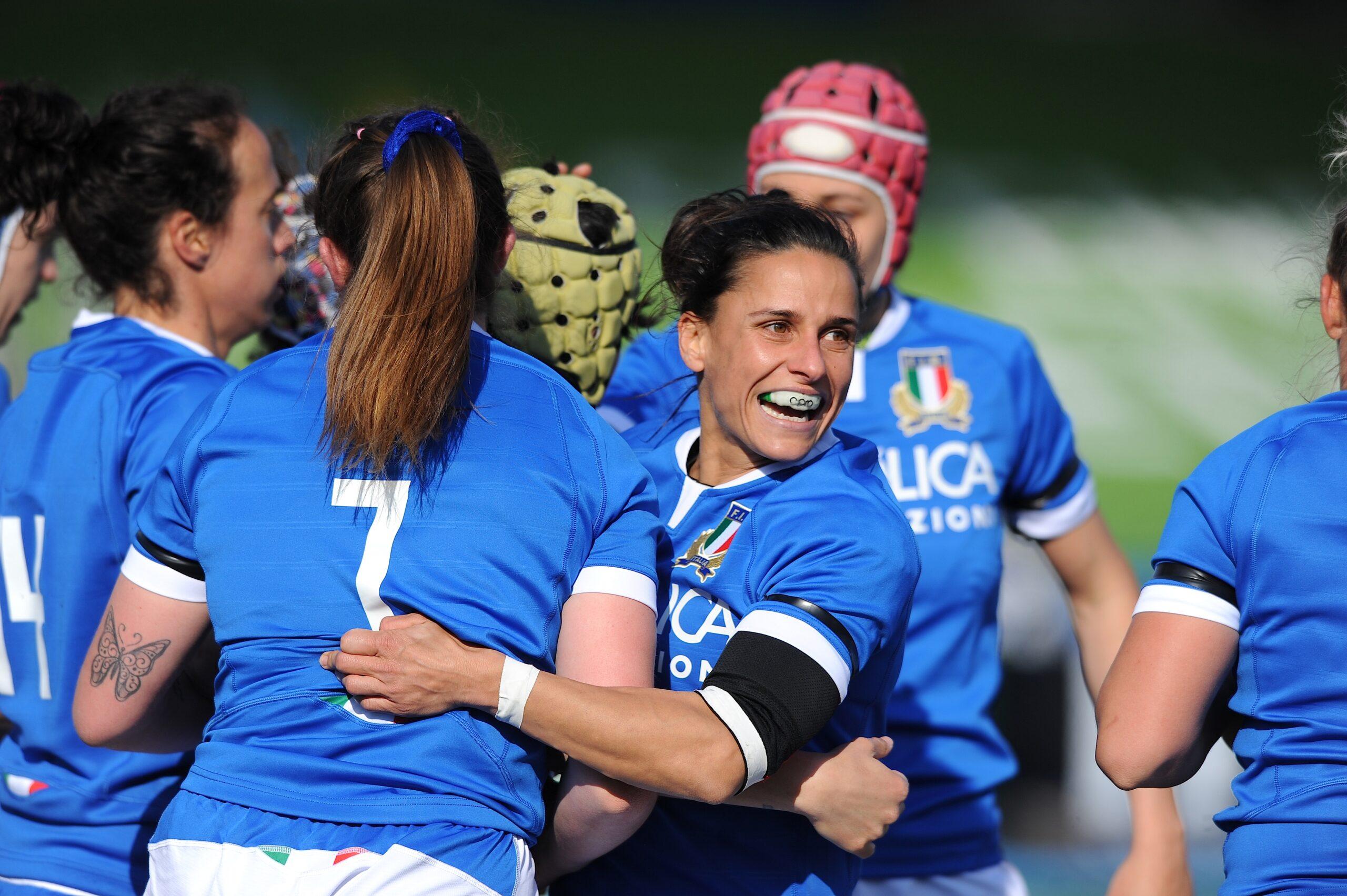 Italia femminile Scozia XV della terza giornata