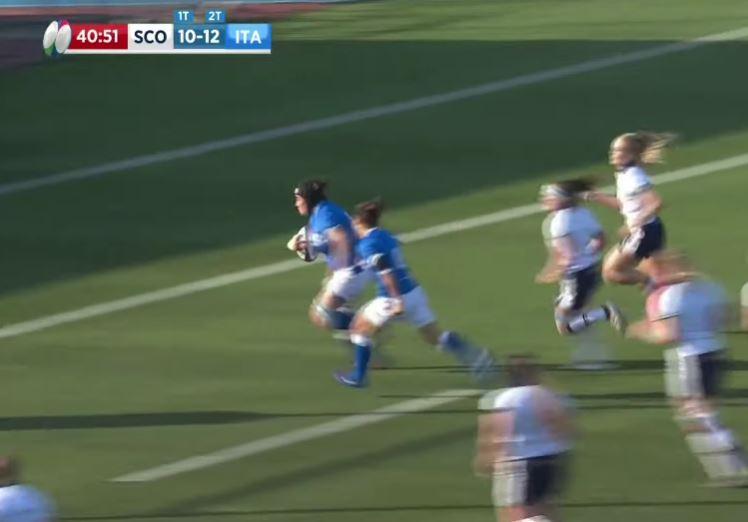 Highlights Scozia-Italia