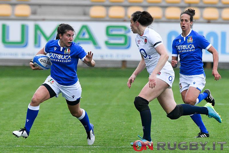Sei Nazioni femminile 2021: Italia-Inghilterra ph. Luca Sighinolfi