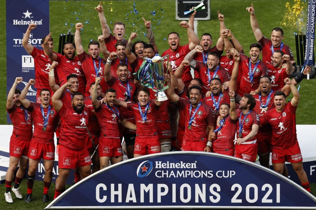 Champions Cup: il calendario della coppa regina del rugby europeo (Photo by Adrian DENNIS / AFP)
