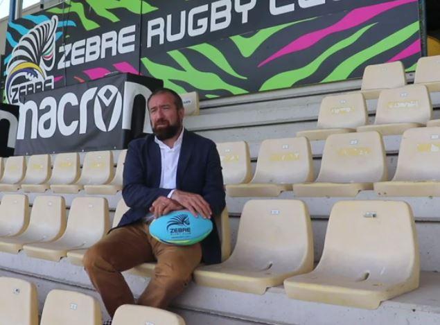 Michele Dalai, presidente Zebre Rugby Club
