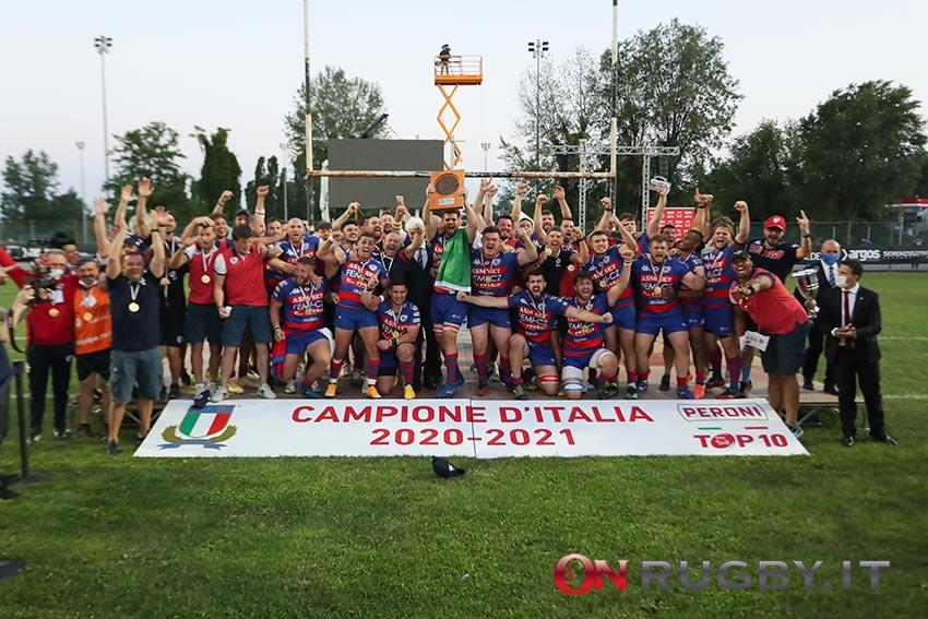 Top10 premiazione Rovigo 2021 campione d'Italia foto