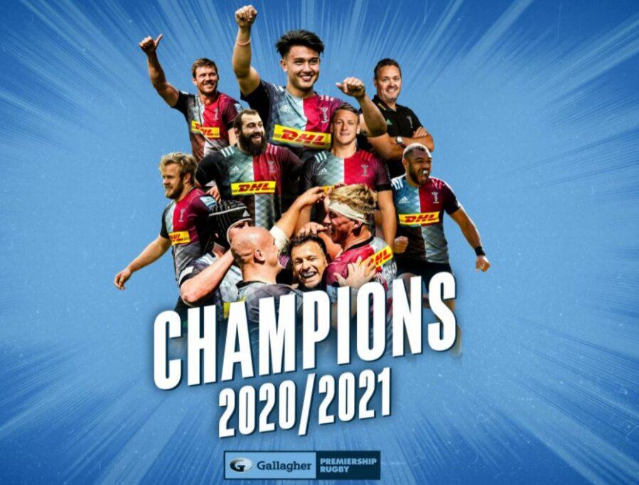 Harlequins campioni d'Inghilterra 2021