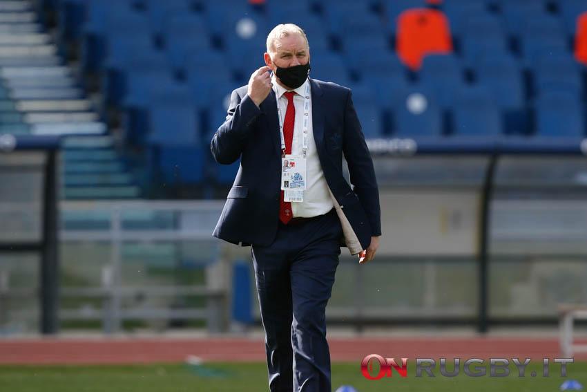 Wayne Pivac head coach del Galles