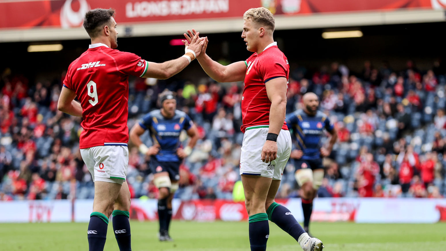 Lions: Giappone battuto 28-10 ma si fa male Alun Wyn Jones (ph. Official Lions Rugby)