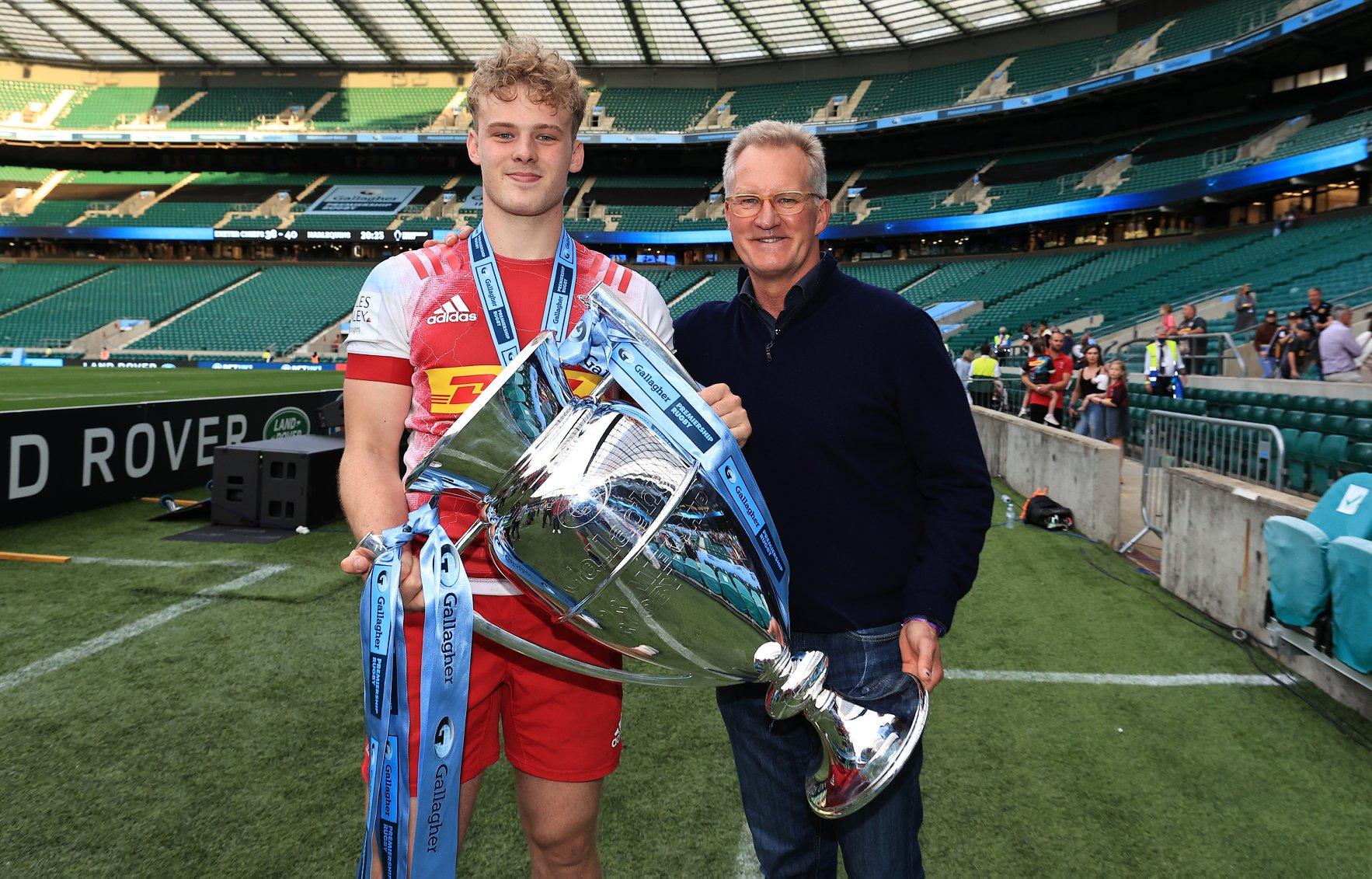 Video: Le due mete decisive di Louis Lynagh, nella finale di Premiership (ph. Harlequins Rugby Union)