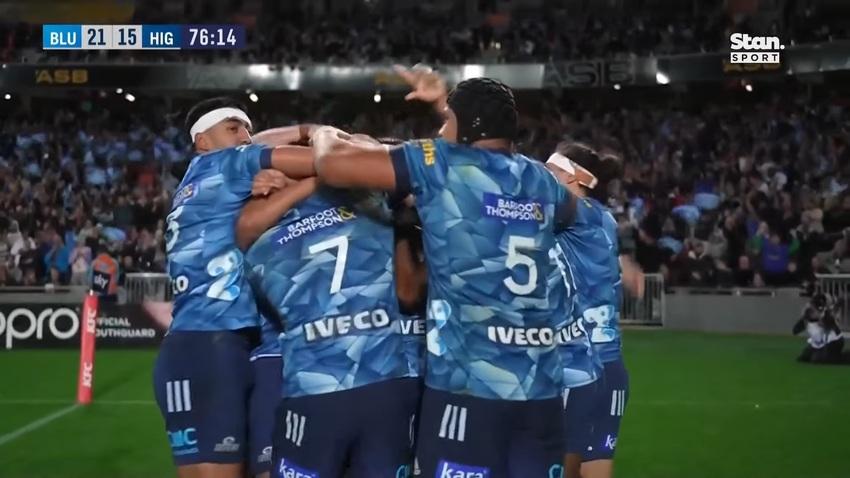 Super Rugby Trans-Tasman: gli highlights della finale Blues-Highlanders