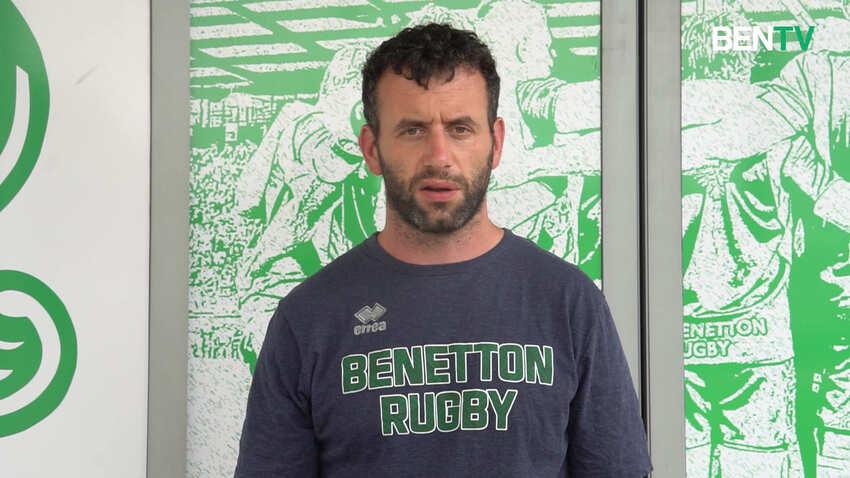 Benetton: video-intervista a Jim Molony, nuovo responsabile della preparazione fisica