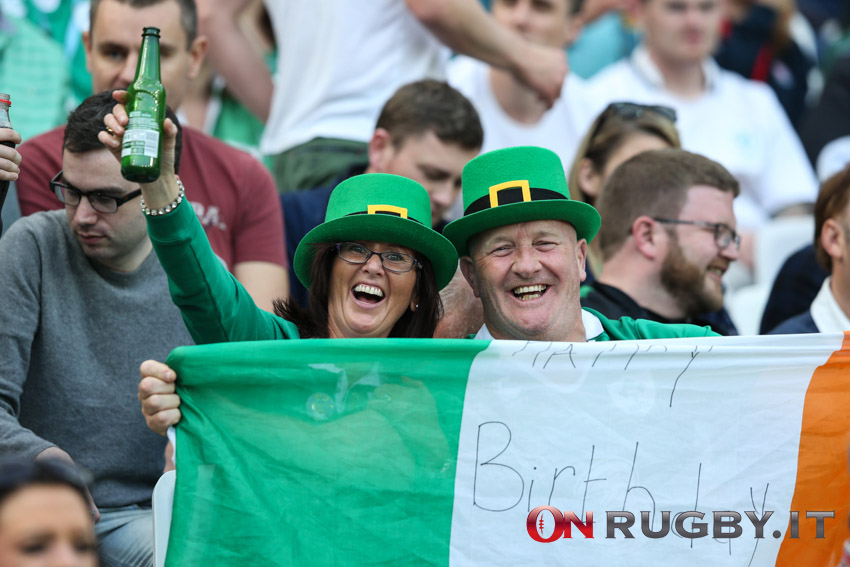 Test Match: la formazione dell'Irlanda per la sfida agli USA