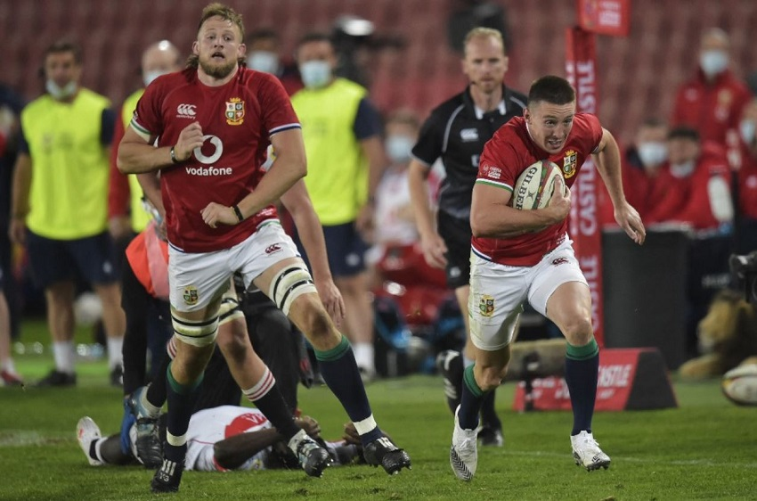 Lions: quattro mete per Josh Adams nella prima sfida in Sudafrica