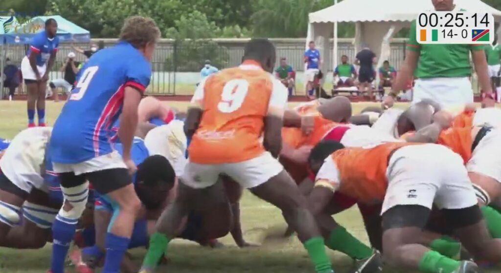 Risultati clamorosi dall'Africa Cup 2021 - Rugby