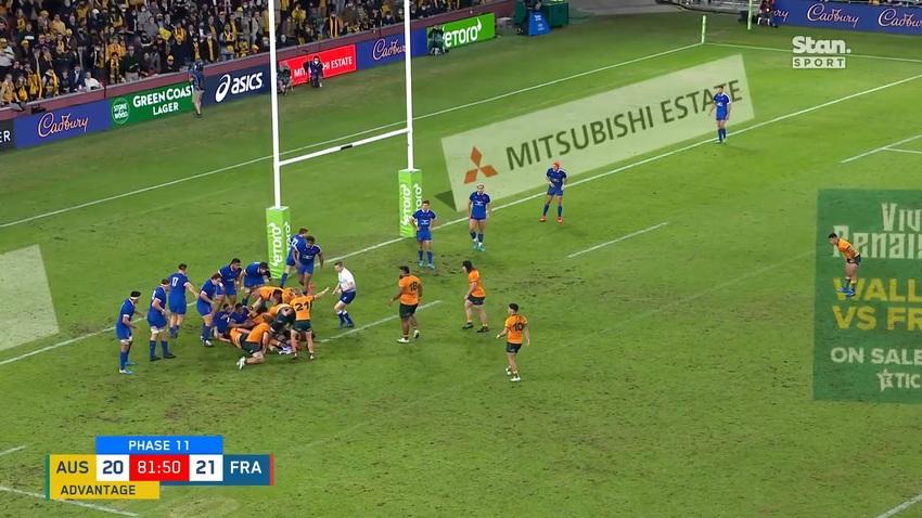 Video: gli highlights della pazzesca vittoria dell'Australia sulla Francia