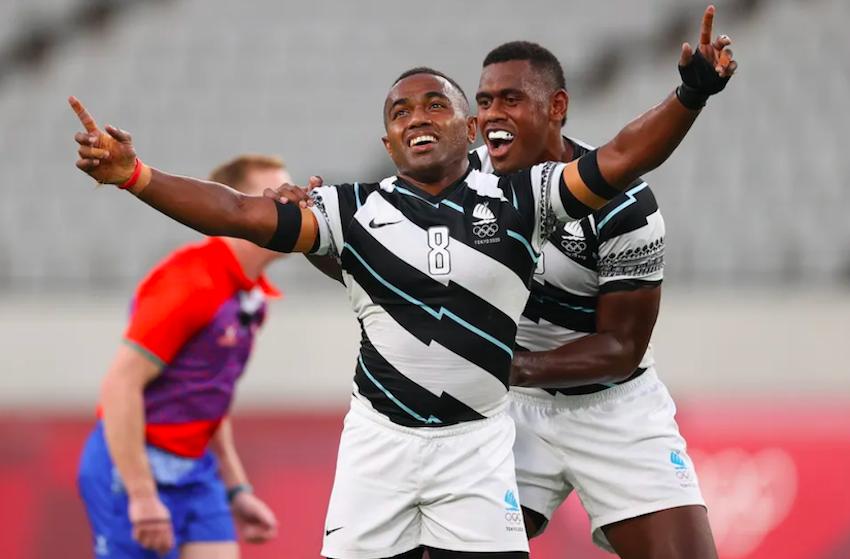 """Olimpiadi, Jiuta Wainiqolo: """"I Fijani giochiamo a rugby con tutto, anche una noce da cocco"""" PH World Rugby"""