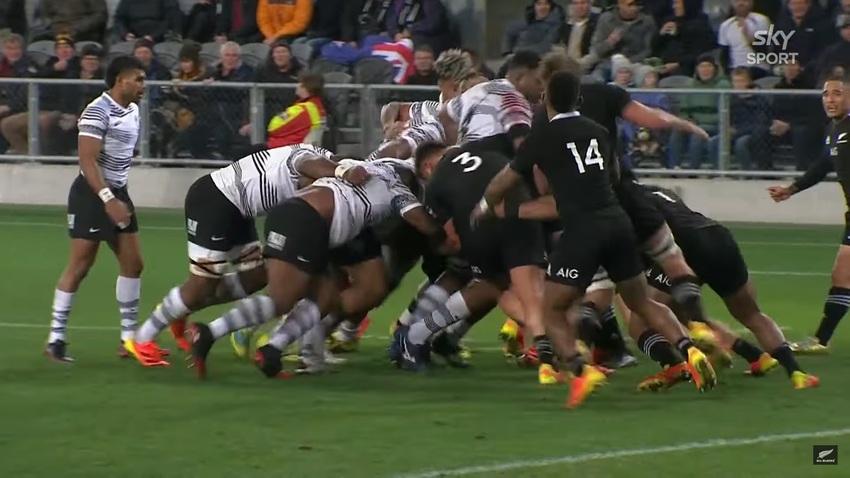 Video: gli highlights dello spettacolare test-match All Blacks-Fiji