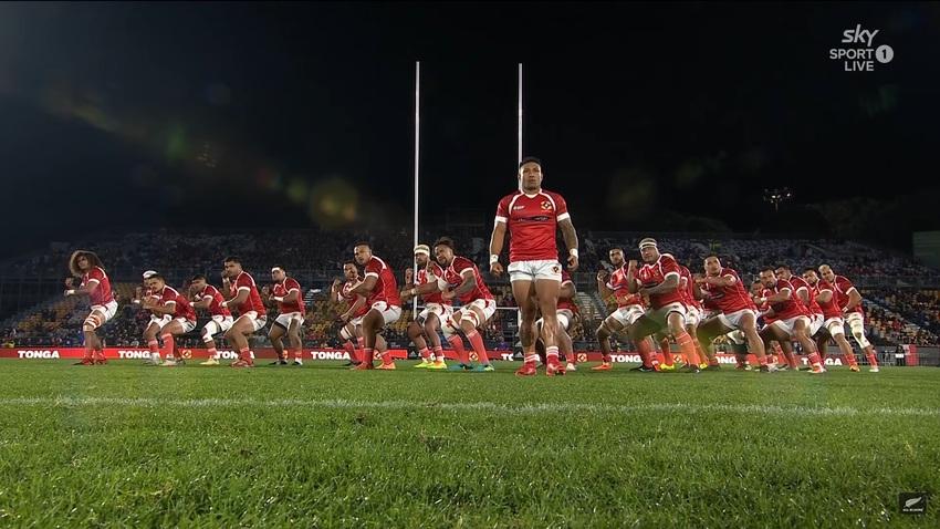 Le due haka di Tonga e All Blacks prima del test match