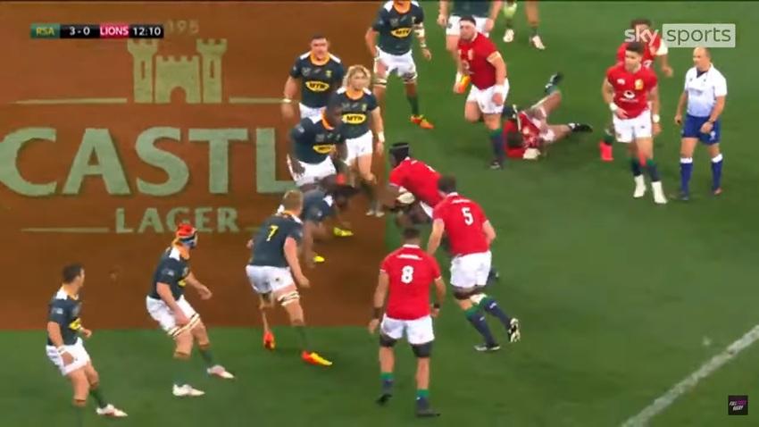 """Video: il Sudafrica """"A"""" batte i British Lions in una partita di altissimo livello"""