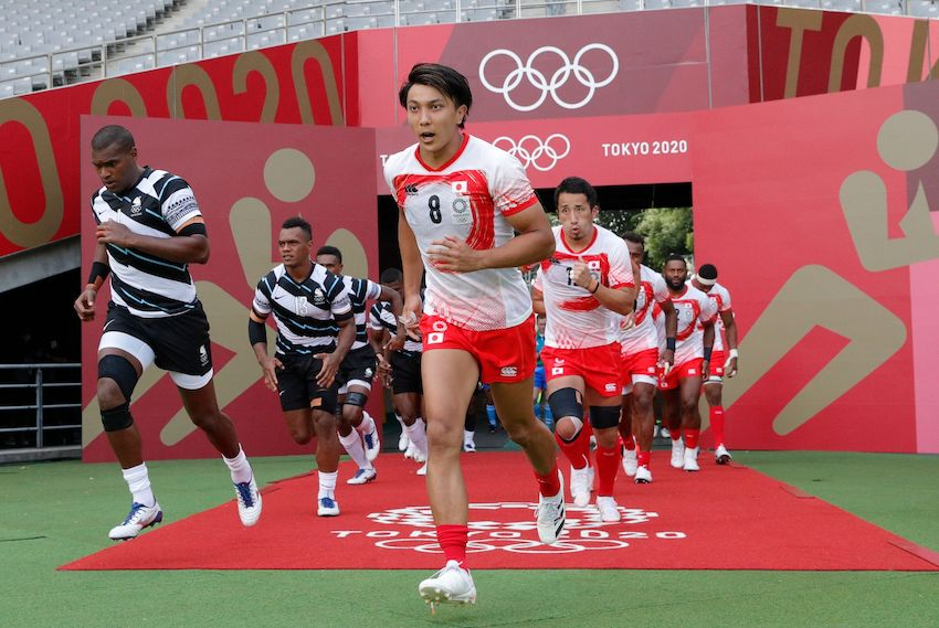 rugby a 7 olimpiadi Giappone Fiji