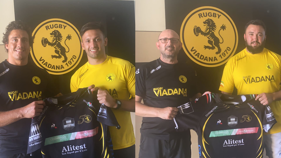 Due nuovi acquisti per Viadana che porta in Italia due argentini. PH Viadana Rugby