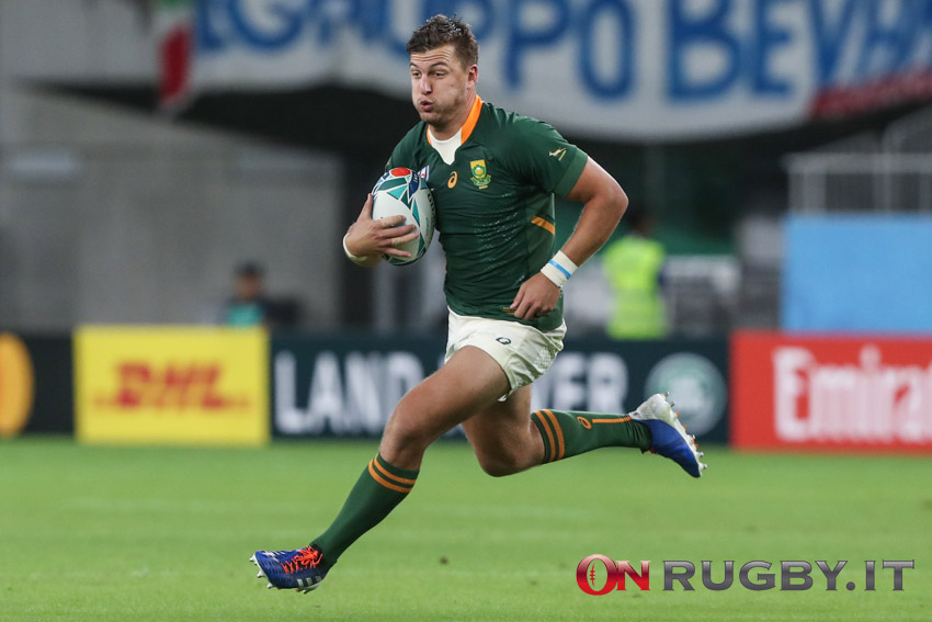 La formazione del Sudafrica per la seconda sfida agli All blacks - Rugby Championship