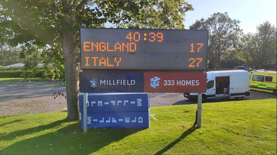 L'Italia Under 18 ha vinto ha vinto 27-17 in trasferta contro i pari età dell'Inghilterra