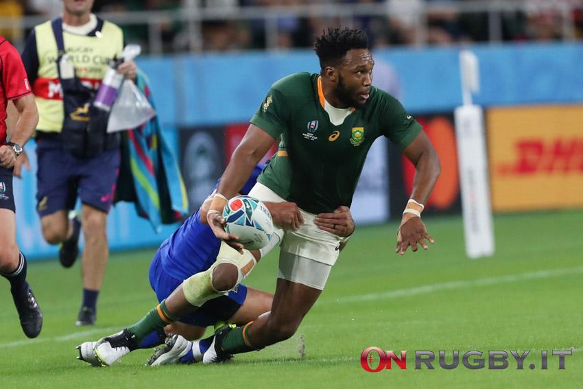 Springboks: Lukhanyo Am vuole il bis mondiale