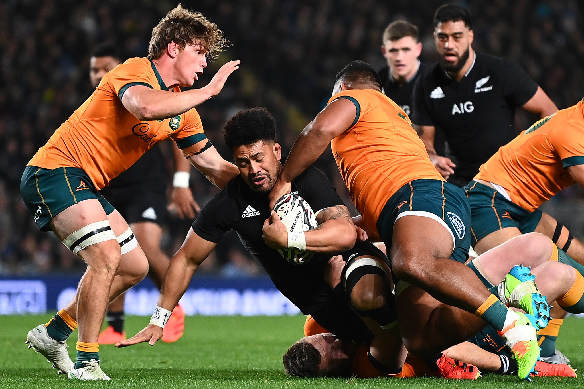 Rugby Championship: Ultimo atto tra Australia e Nuova Zelanda PH AFP