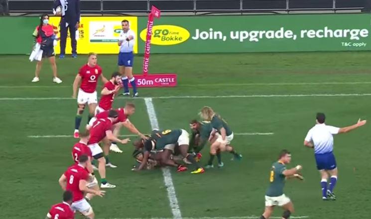 highlights gara 2 Sudafrica vs Lions